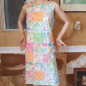 Rare Lilly Pulitzer White Tag Dress
